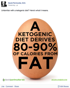ketogenic diet is 80-90% fat