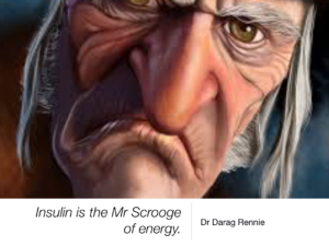 Insulin is the Mr Scrooge of Energy